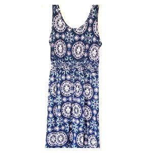 Maxi dress blue, size medium